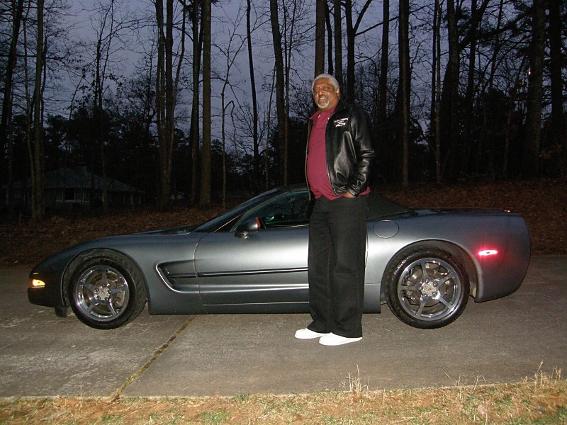 187 Pat Patterson Corvette